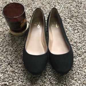 Mix No. 6 Black Ballet Flats